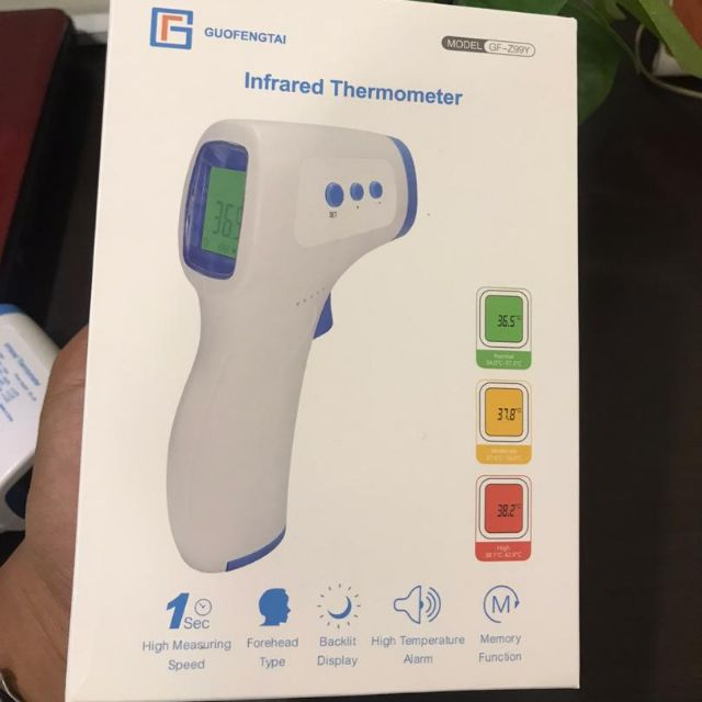 READY STOCK FOREHEAD GUN THERMOMETER 1 SECOND