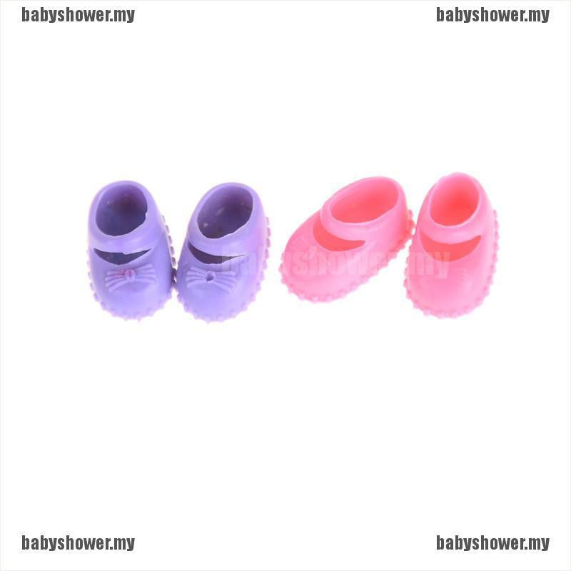 5Pairs 12cm  Doll Shoes Accessories Kelly Doll Confused Doll Shoes Kids  BS