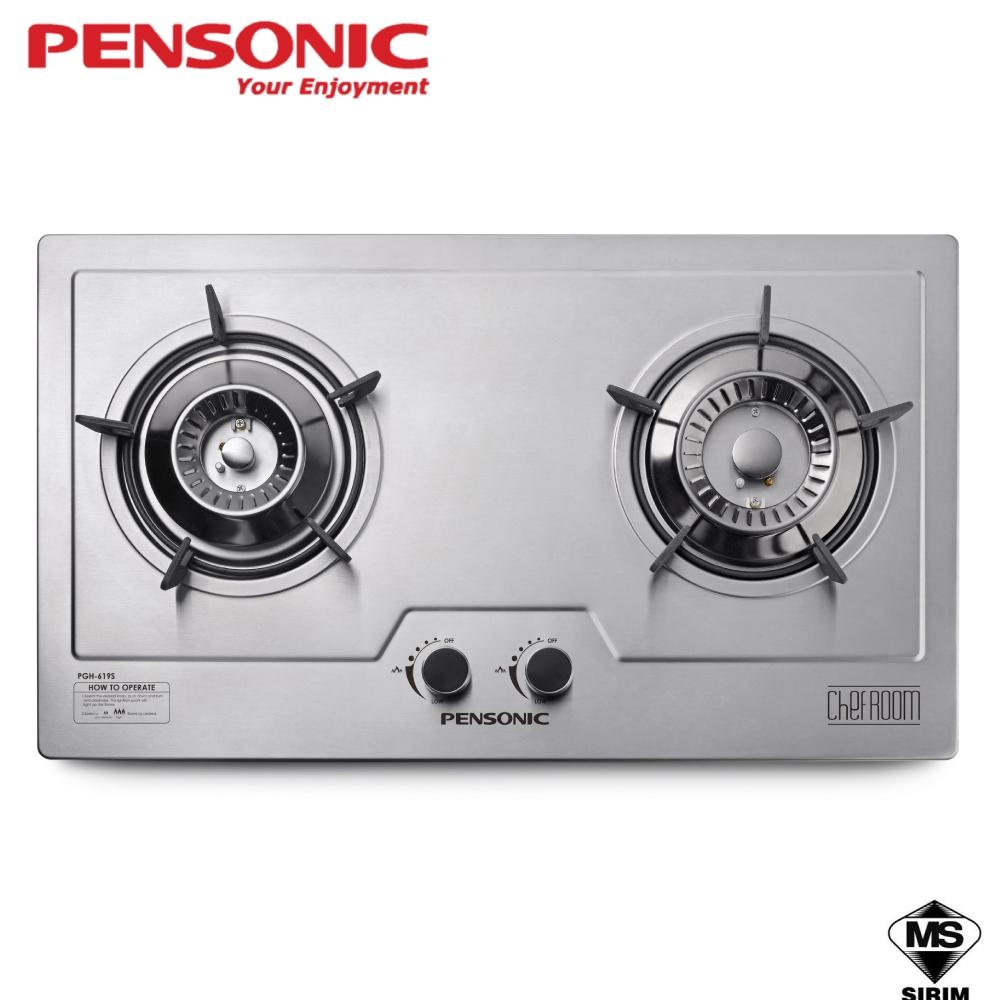 Pensonic Stainless Steel 2 Burner Built-In Hob PGH-619S