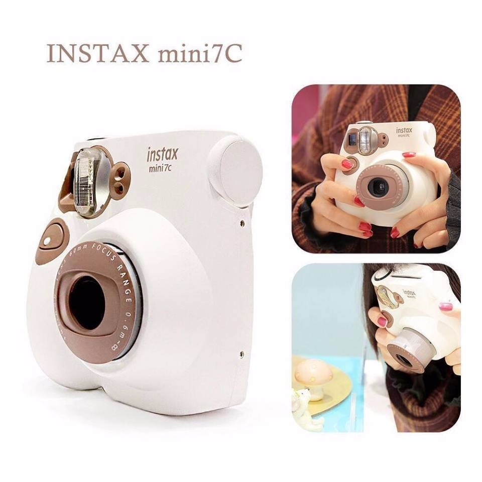 For Fujifilm Mini7C Instant Imaging Polaroid Camera (Without Battery)