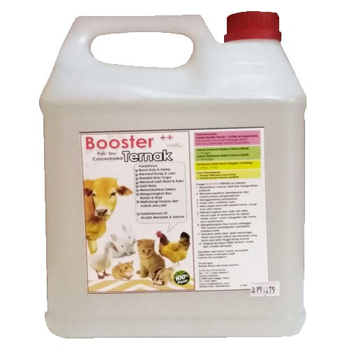 AzfaRich Booster Ternak Nutrien Untuk Ternakan (Pati) - 5 Liter
