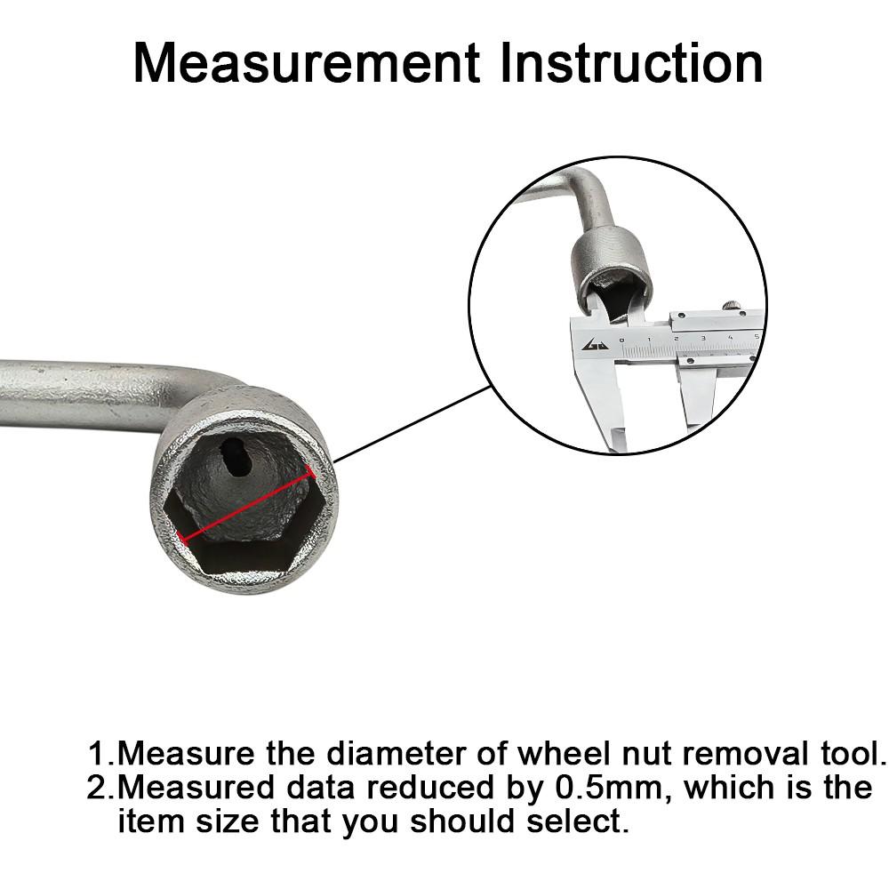SENZEAL 20x 19mm Universal Hex Wheel Nut Bolt Protector Cap Wheel Lug Nut Bolt Cover for Cars Black