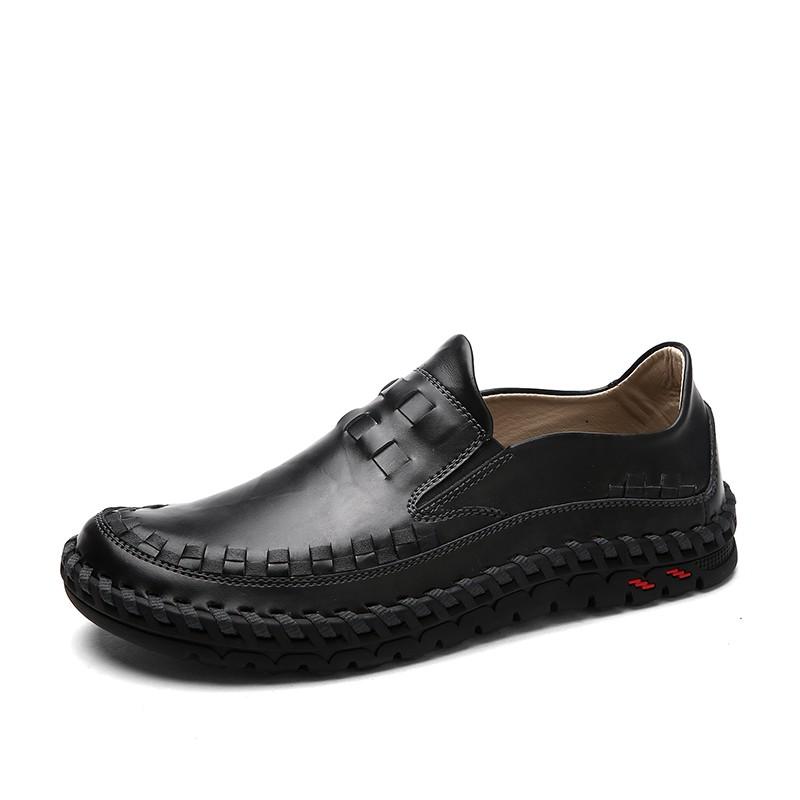 รองเท้าหนังวัวแท้รองเท้าลื่นไถลรองเท้า