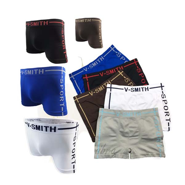 [mimibra] 009-V-Smith Boxerขาส้ัน กางเกงบ๊อกเซอร์ชาย