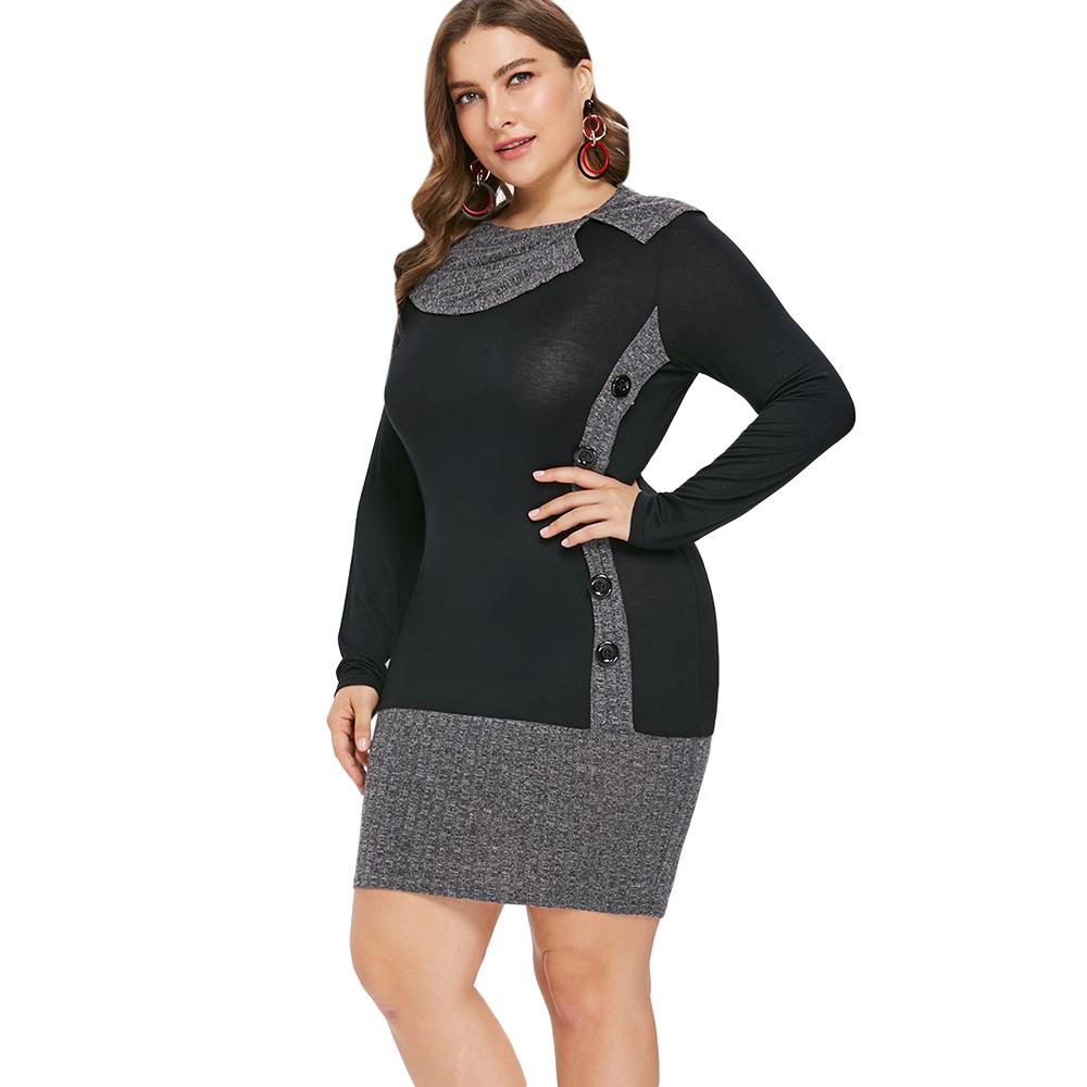 short sleeve knee length sheath dress womans plus size 1X 14 16 4X 3X 2X