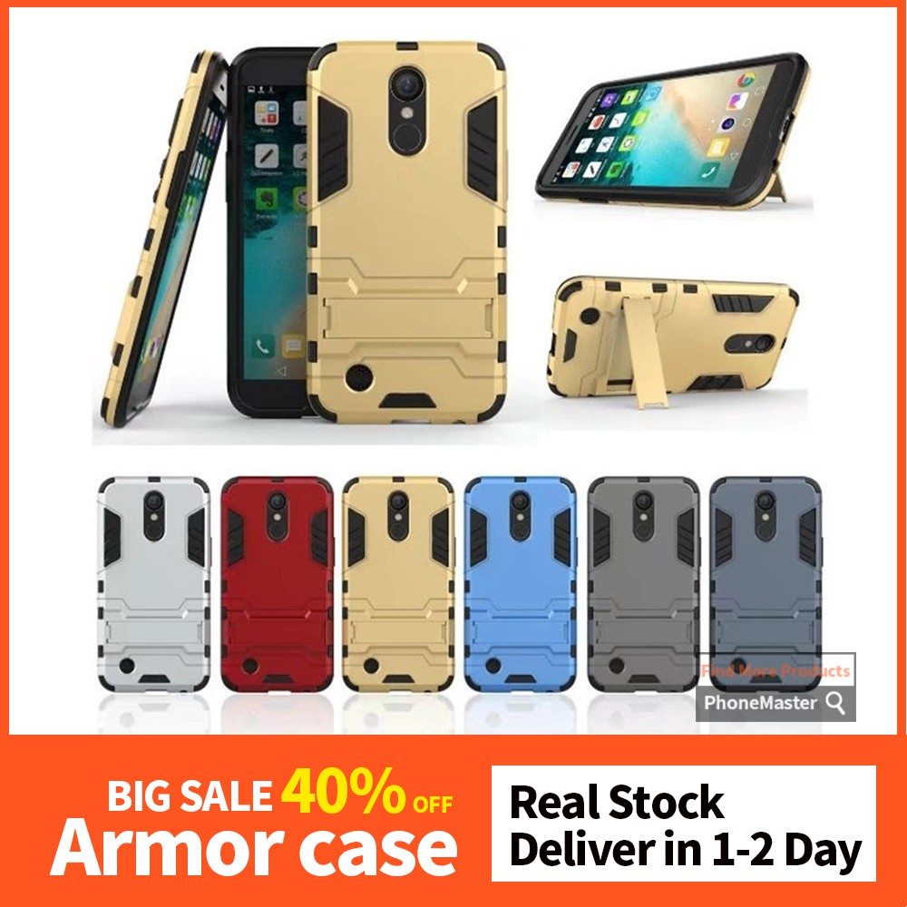 LG LV5 Iron Man bracket protective cover LV5 combo creative airbag drop case
