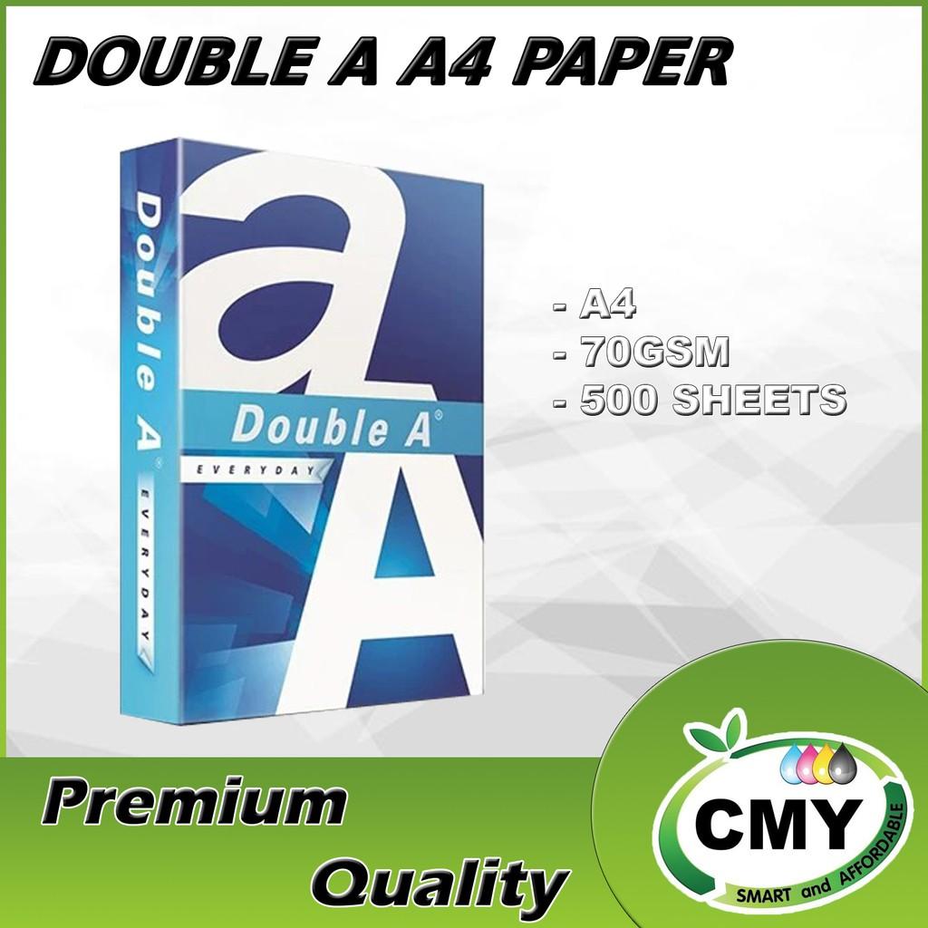 Double A A4 Paper Premium 70 gsm - 500 sheets