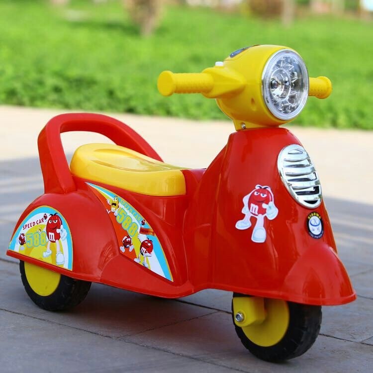 [ READY STOCK ]  Baby children roller coaster 1-6 year old baby walker scooter toy mainan