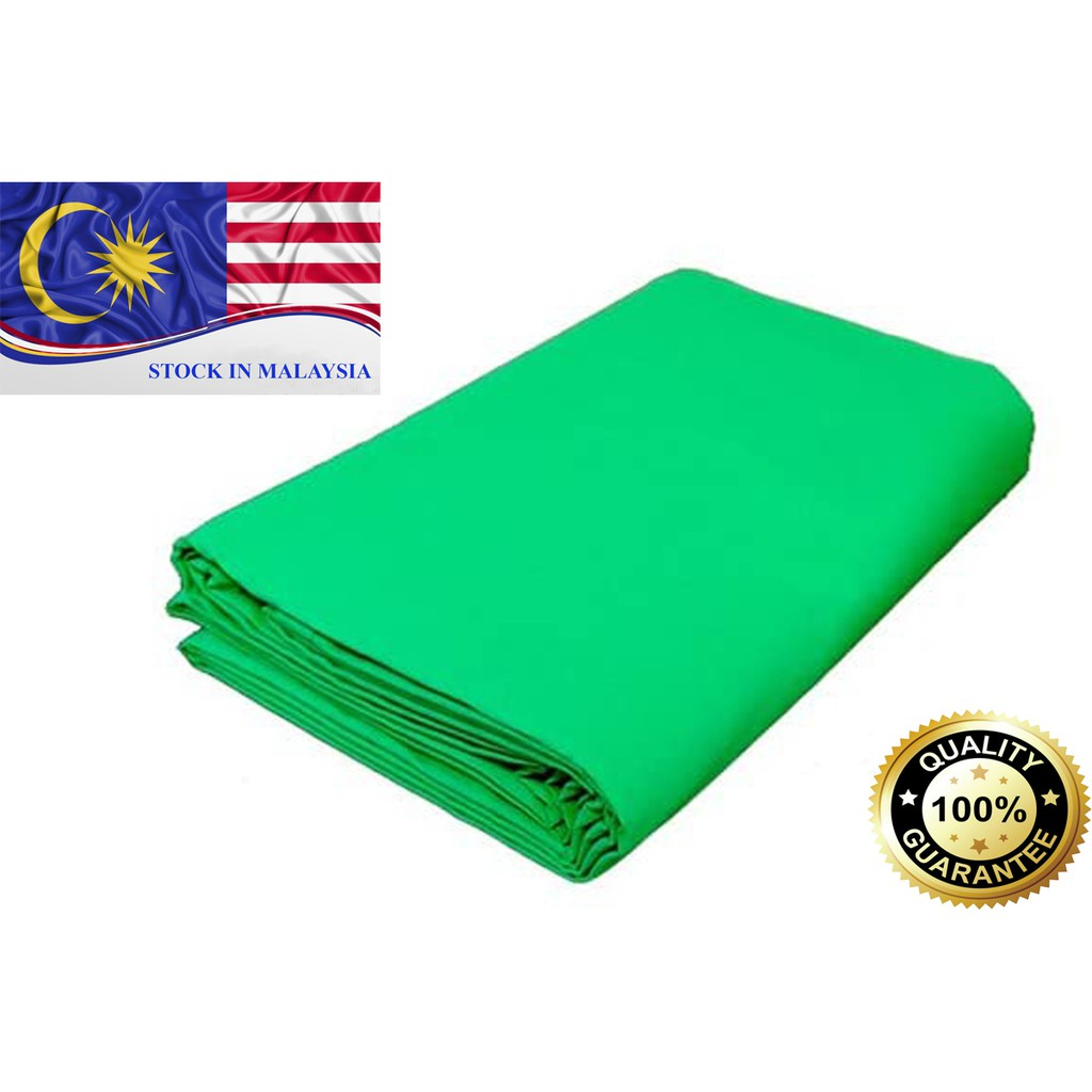 Green Muslin Photography Backdrop 3m x 6m (Ready Stock In Malaysia)