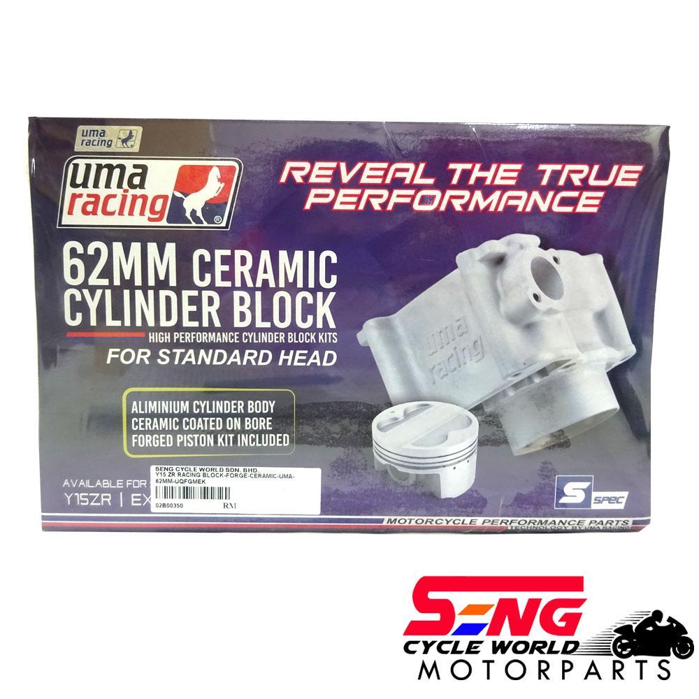 Y15ZR Y15 UMA RACING CERAMIC CYLINDER BLOCK STANDARD HEAD (62mm