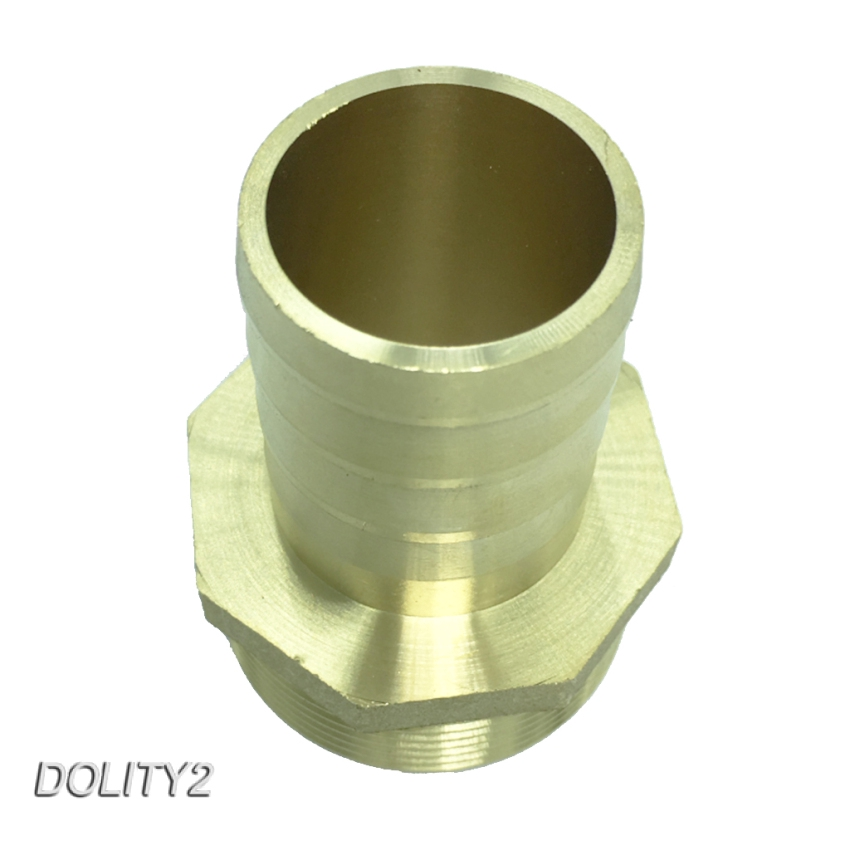 46mm Length Mold Coupling Brass Male Nipple Pipe Coupler