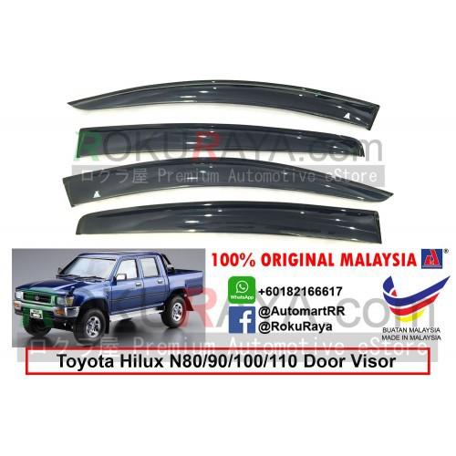 Toyota Hilux N80 N90 N106 N110 1988-1997 AG Door Visor (Big 12cm Width)