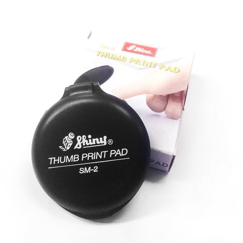 Shiny SM-2 Micro Pad Thumb Finger Print SM2 Chop Jari Stamp Pad Stamppad