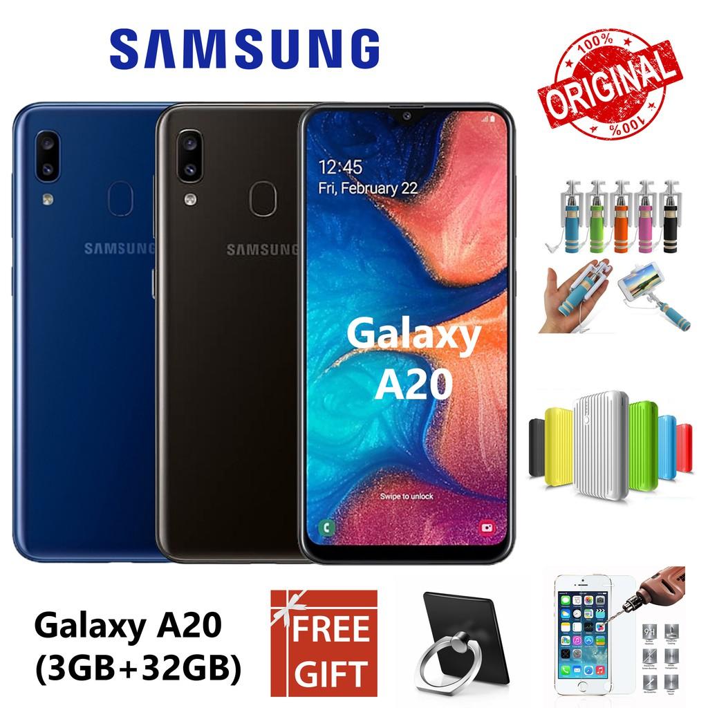 Samsung Galaxy A20 (3GB RAM + 32GB ROM) with 🎁Free Gift🎁 (100% Original)