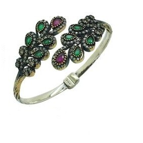 Hand made silver bracelet
