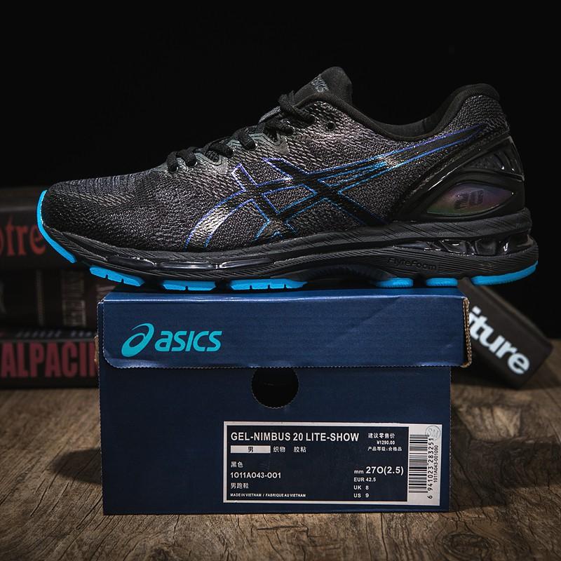 Haiku charla Colgar  Spot auctionOriginal Asics GEL-NIMBUS 20 LITE-SHOW Men Profession Sports Running  Shoes   Shopee Malaysia