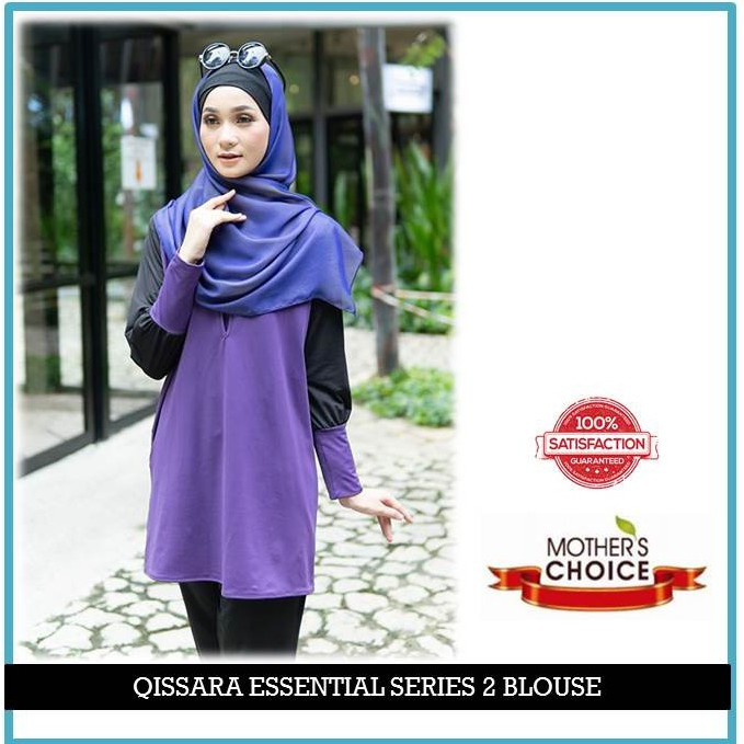 ES210 - QISSARA ESSENTIAL SERIES 2 MOMMY MATERNITY AND NURSING BLOUSE