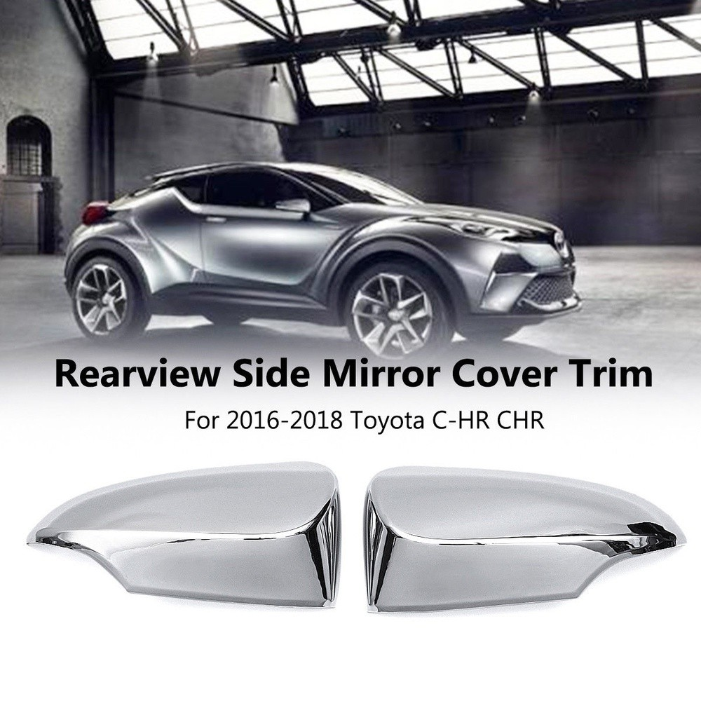 Roof Racks & Boxes Travel & Roadway Product 6pcs Abs Glossy Accessories Exterior Tail Rear Light Lamp Frame Decoration Cover Trim For Toyota C-hr 2016 2017 2018 Modern Techniques