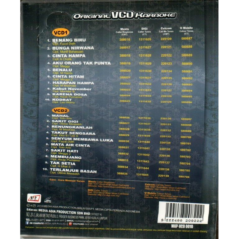 Lagenda Dangdut Meggie Z VCD | Shopee Malaysia