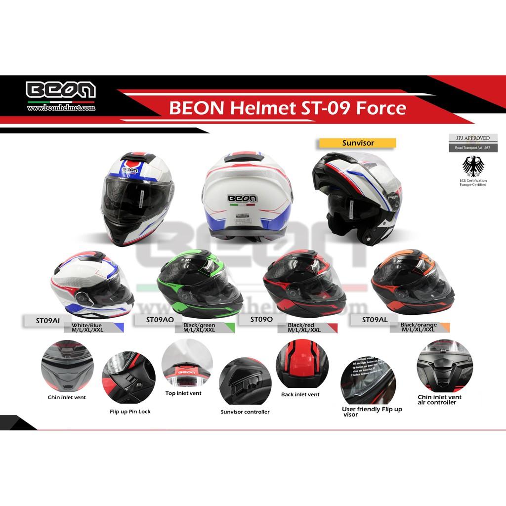 Zeus Zs 1600 Clear Carbon Ak4 Blue Full Face Helmet Shopee Malaysia 811 White Black Green Al3 Helm Fullface M L Xl
