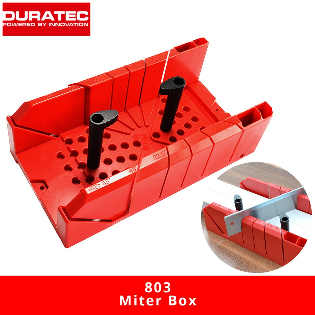 DURATEC 803 Miter Sawing Box Wood Clamp