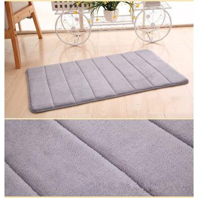 Furniture Direct High Density 40x60cm Velvet Plush Floor Mat/ carpet/ rug