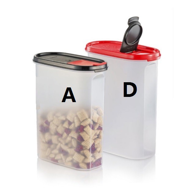 Tupperware Modular Mates Oval  With Flip Top Seal 2.9L OR 2.3L (IMPORTED)