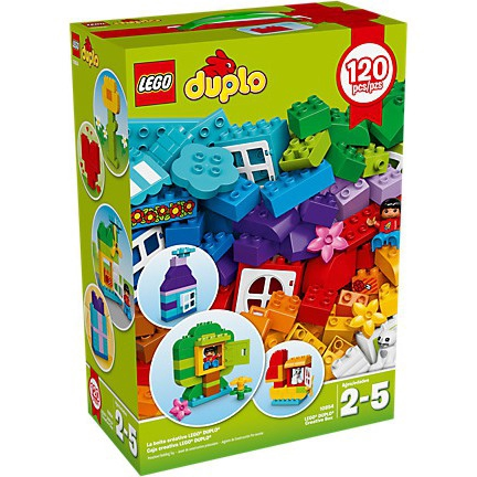 Lego Duplo My First Lego Duplo Creative Box 10854 Shopee Malaysia