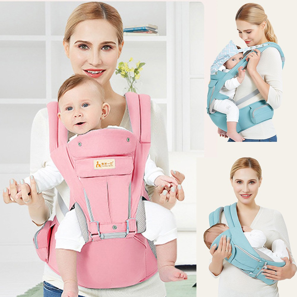 Multifunctional Outdoor Hands Free Baby Carrier Wrap Carrier Nursing Cover