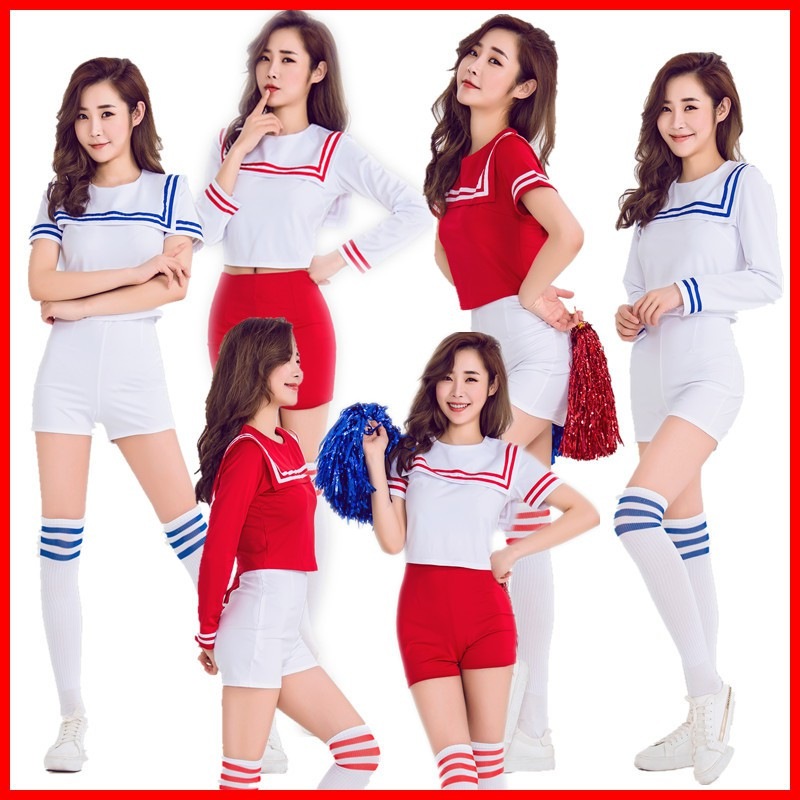 b7558f1337d Japan and South Korea women's team football baby cheerleading cheerleading  costumes play song clothes stage clothes