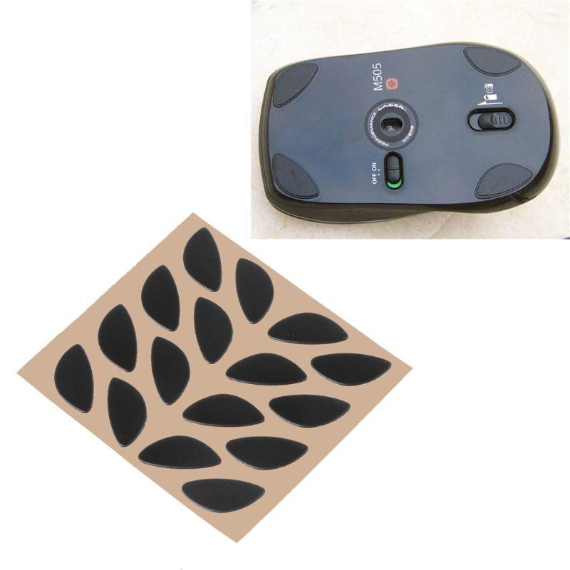 4 Sets Games Level Mouse Feet Skates Gildes for Logitech V320 V450 0.6mm
