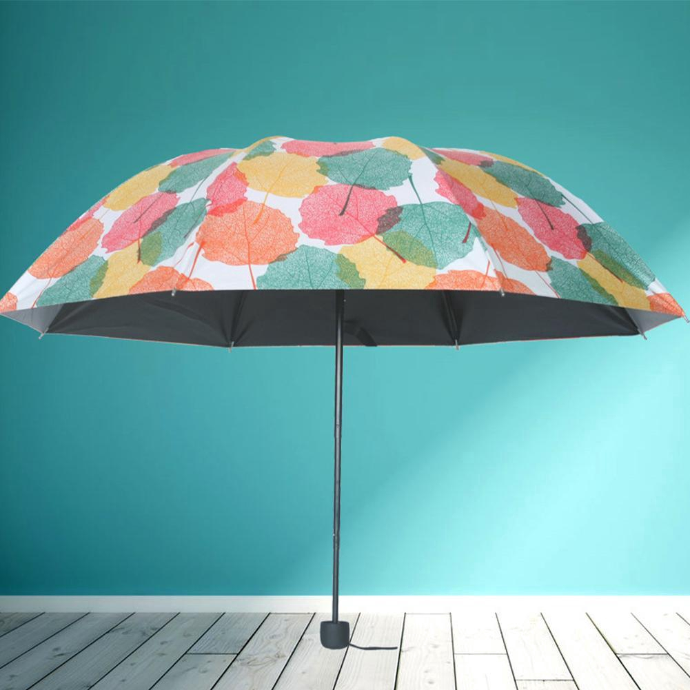 Automatic Umbrella Rain Women Men Folding UV Sun Transparent Sunshade Umbrella,splicing