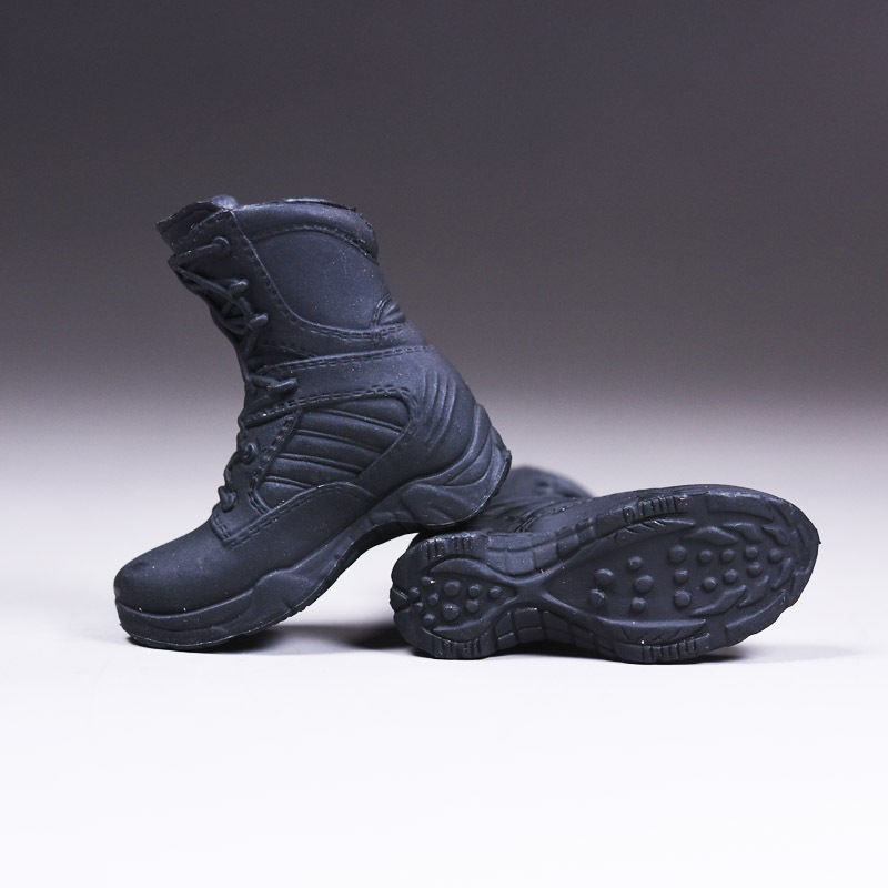 1//6 Policewoman Combat Boots Female Shoes W Ball Joint Inside F 12/'/' Figure