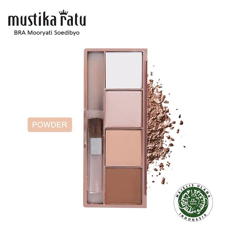 Mustika Ratu Beauty Queen Face Sculpt Contour & Highlight Powder (12g)