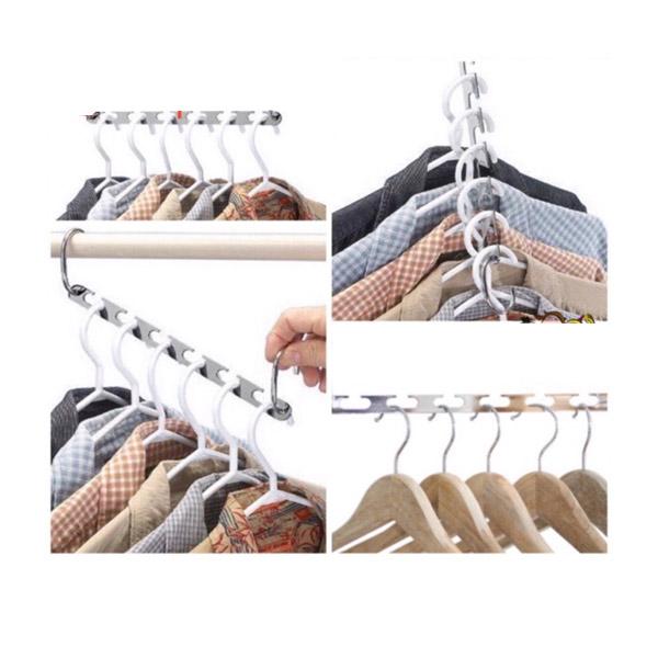 ⭕️Flash Sale⭕️ ราว ราวผ้า ที่แขวนผ้า ไม้แขวน ราวแขวน ไม้แขวนเสื้อ ไม้แขวนผ้า สแตนเลส จัดระเบียบ Hanger
