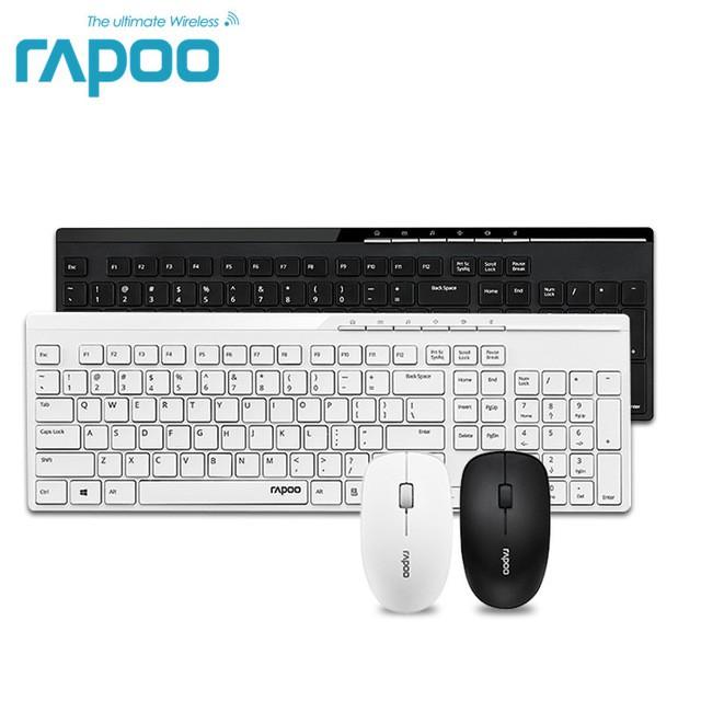 1fa161be303 Waterproof Rapoo X220 2.4G Multi-Media Mini Wireless Keyboard and Mouse  Combo   Shopee Malaysia