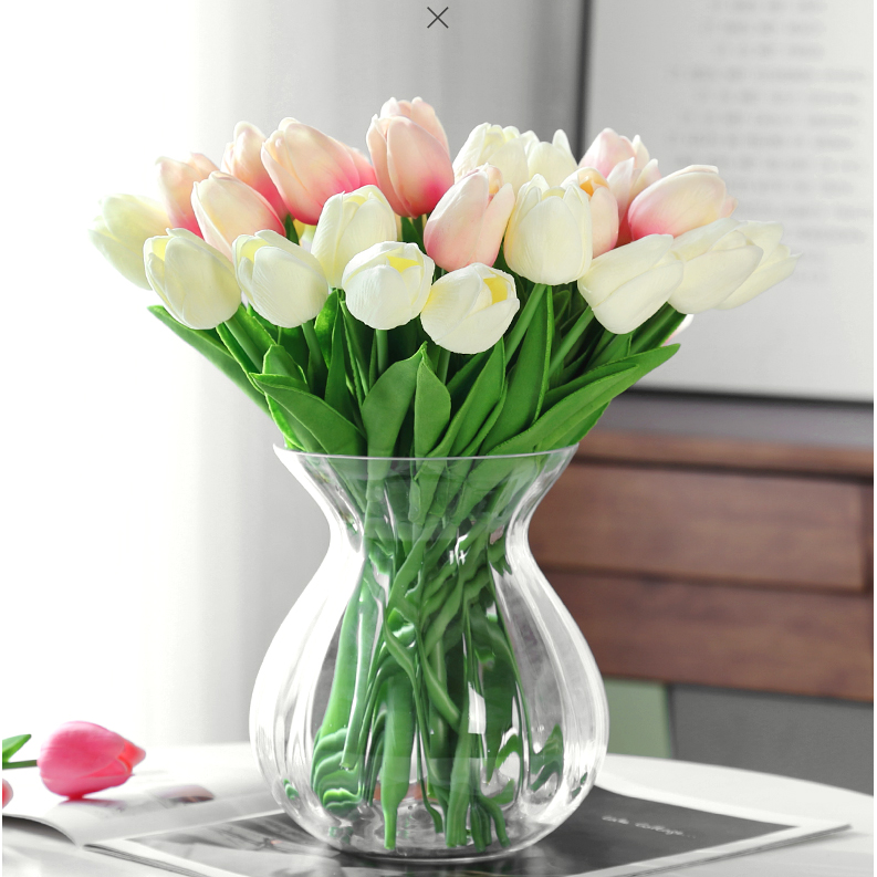 10pcs Tulip Artificial Flowers Wedding Decor Simulation Bride Bouquets Tulips For Home Party Vase Decor Shopee Malaysia