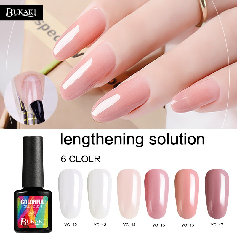 Bukaki 6 Colors Poly Gel Finger Extension Builder Gel Extend Uv Gel Nail Polish Shopee Malaysia Bukaki nail art set süper glitter beyaz sequins + siyah renk tırnak lehçe yarı kalıcı uv jel vernik jel lak kapalı islatın vernis. bukaki 6 colors poly gel finger extension builder gel extend uv gel nail polish