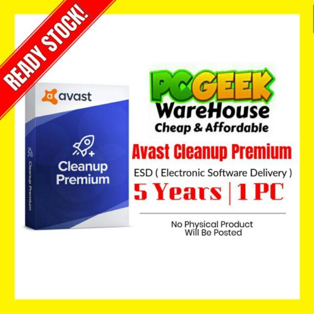 avast cleanup premium pour mac