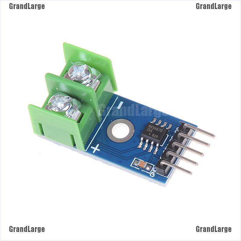 1Pc MAX6675 K type thermocouple temperature sensor converter board For arduino#