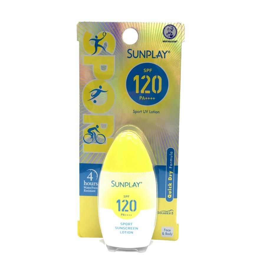 Sunplay Sport UV Sunblock SPF120 PA++ Waterproof & Sweat-Proof