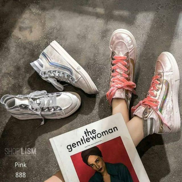 🔥🔥#รองเท้าผ้าใบเกาหลี สำหรับสาวสปอร์ตมีสไตล์**ทักแชทก่อนสั่งซื้อส