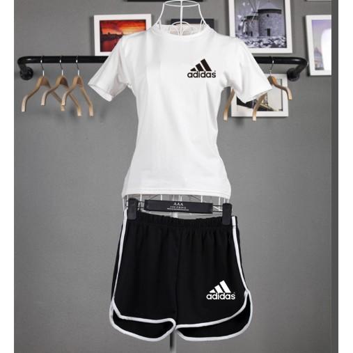 adidas t shirt and shorts set Shop Clothing & Shoes Online