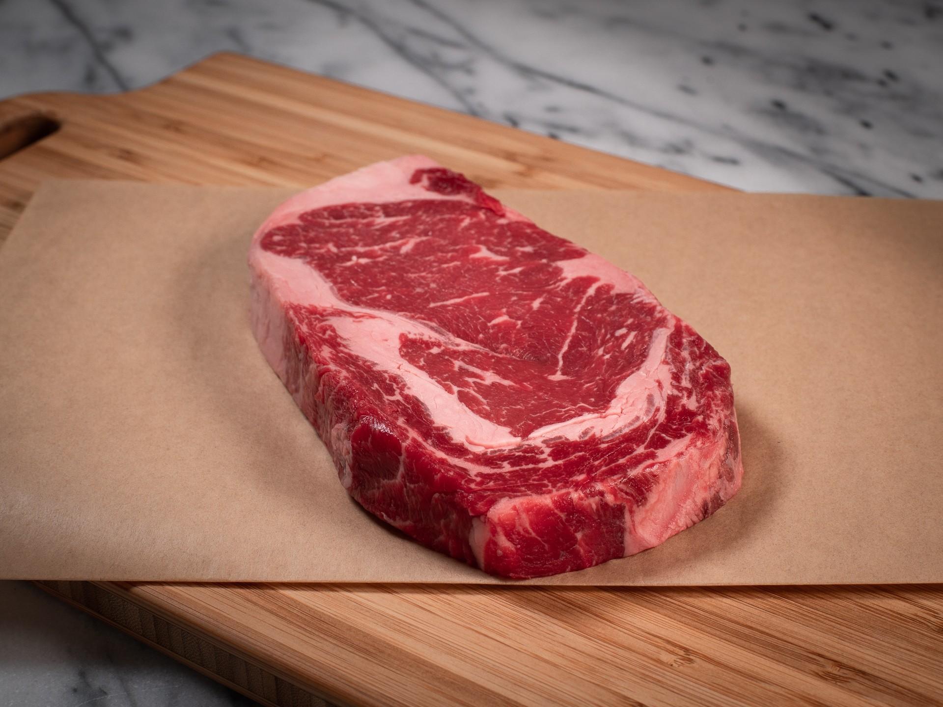 Australia Ribeye Beef Steak Grade AA (240G-270G) 1inch Grass Fed