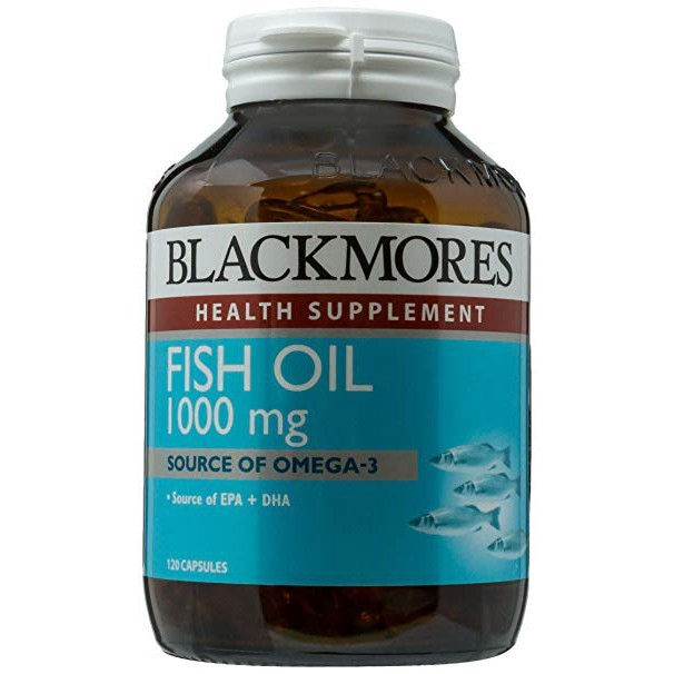 Blackmores Fish Oil 1000mg 120\'s (Exp: 10/2021)
