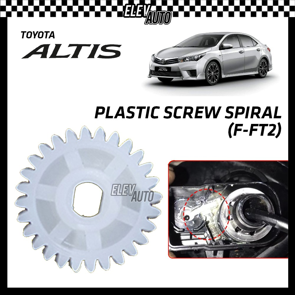 Toyota Altis Plastic Screw Spiral Side Mirror Replacement Tool (F-FT2) 1 PCS