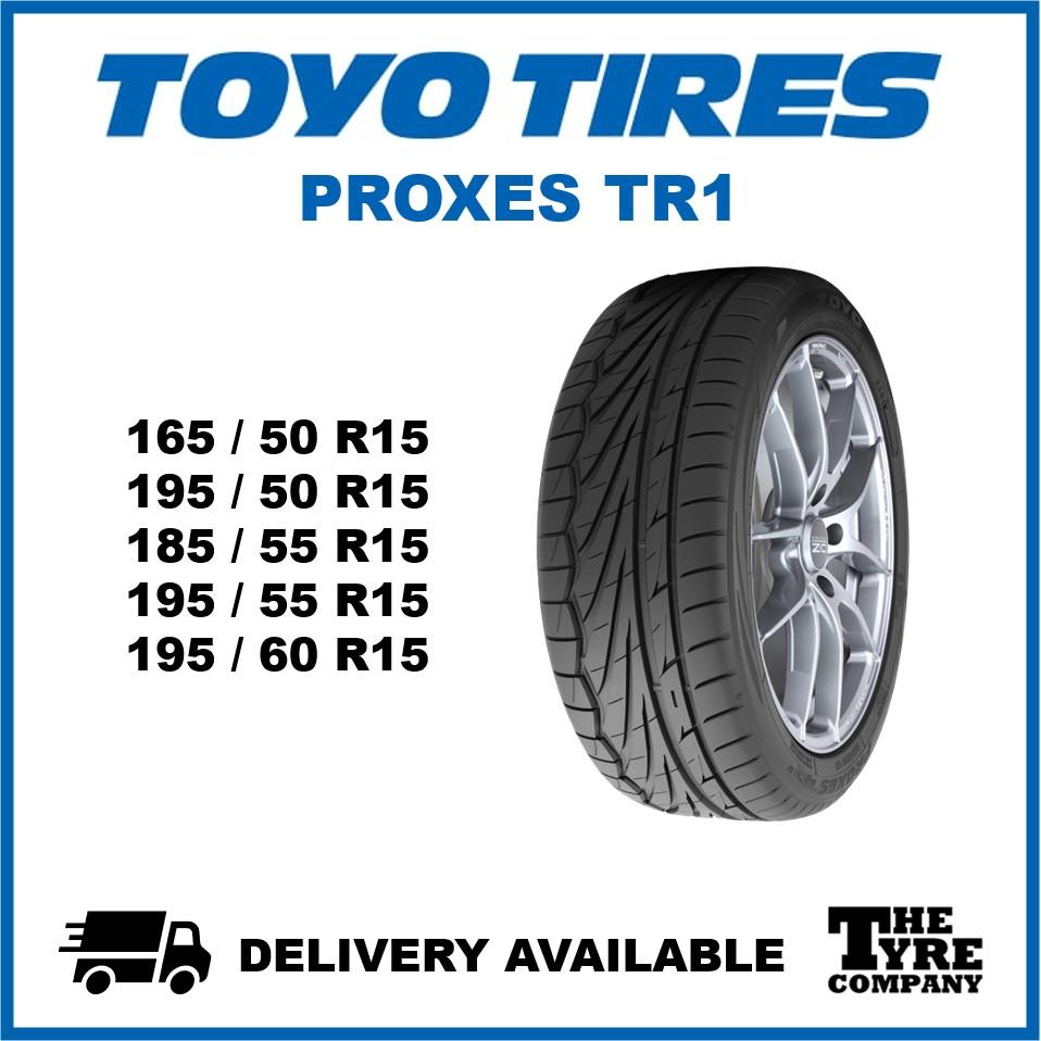 Toyo Proxes Tr1 165 50 15 195 50 15 185 55 15 195 55 15 195 60 15 Tyre Tire Tayar Shopee Malaysia