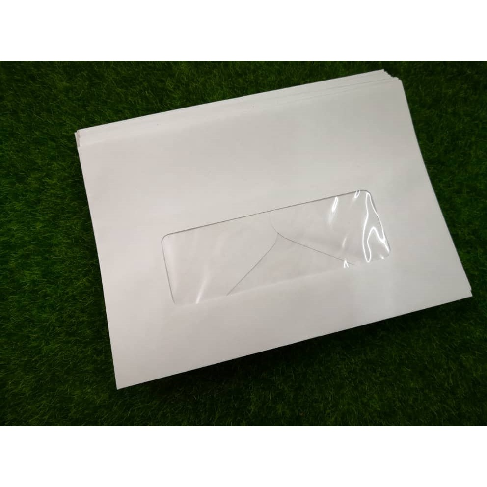 "159mm x 108mm ( 6 1/4"" x  4 1/4"" ) White Windows Envelopes"