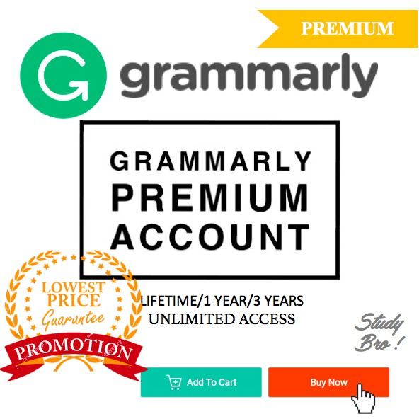 Grammarly Premium Account | Lifetime / 3 Years/ 1 Year