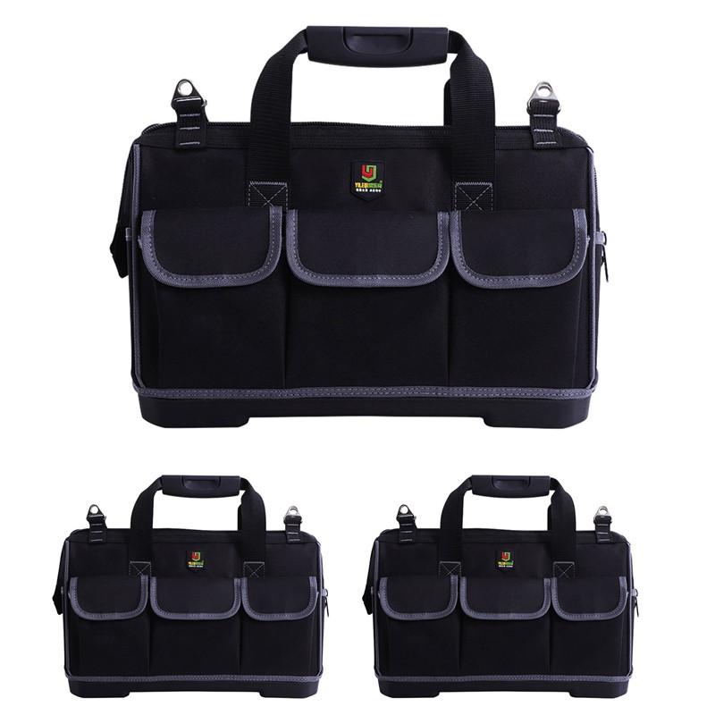 db598806f902 Yileqi Multi-Layers Fabric Oxford Tool Bags Single Shoulder Portable Kit  Satchel Waterproof Electric